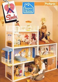 Sindy house. 31 years old and I still want this for Christmas!
