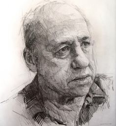 Drawing - How To Draw Library Colin Davidson Manga Drawing, Life Drawing, Drawing Sketches, Painting & Drawing, Art Drawings, Daily Drawing, Portrait Sketches, Pencil Portrait, Portrait Art