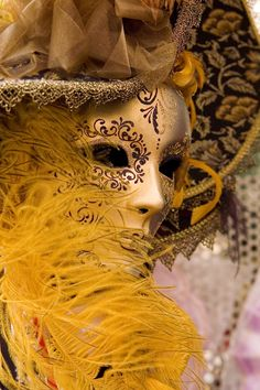 Venetian carnival mask by terraaprile.deviantart.com with Pin-It-Button on @deviantART