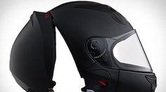 Der futuristische Motorradhelm