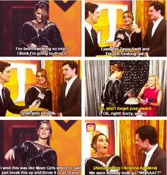 Jennifer and her funny People's Choice Awards funny moments...