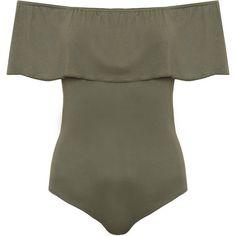 a4cee3d380 Octavia Peplum Sleeveless Bodysuit (€18) ❤ liked on Polyvore featuring  intimates