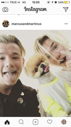 I love Marcus and Martinus both dogs ! So this is my favourite picture of them! Twin Boys, Twin Brothers, My Boys, Jiff Pom, Dream Boyfriend, Bff Tattoos, Handsome Boys, Tween, Hanging Out