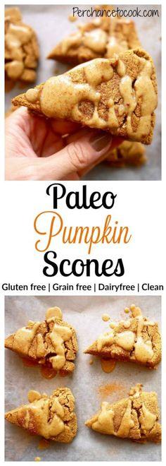 Paleo Pumpkin Scones...