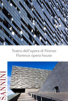 """NUOVO TEATRO DELL'OPERA  Lo Studio ABDR per il nuovo Teatro dell'Opera di Firenze ha disegnato una """"pelle"""" di rivestimento, dove è stato messo in evidenza il concetto di leggerezza in un equilibrio architettonico tra pieni e vuoti. Trattasi di una parete posata a secco .... http://www.sannini.it/news-single-002.html #architecture #studiojb #firenze  FLORENCE OPERA HOUSE  Study ABDR for the new Opera House in Florence has ....... http://www.sannini.it/news-single-002-en.html"""