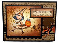 Halloween card - Crafters Companion