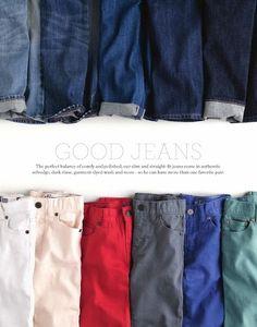 jeans crop still life