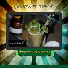 Chestnut touch nuestra propuesta para #WorldClass15 con @BulleitUSA
