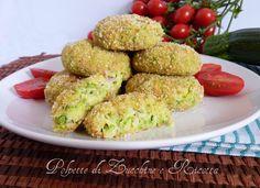Polpette di zucchine e ricotta ricetta facile  leckeres rezept aus Zucchini und Ricotta - Zucchini Bällchen, italienisches Rezept, Italien, food recipes