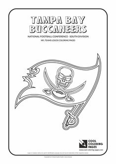 Lovely Cool Coloring Pages   NFL American Football Clubs Logos   National Football  Conference   South Division
