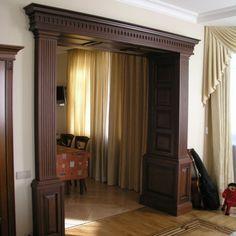 Портал из массива дуба. Эксклюзивная мебель на заказ. Изделия из ценных пород дерева!