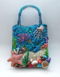 The Underwater Kingdom Handbag - Bead&Button Magazine Community - Forums, Blogs, and Photo Galleries