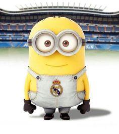 even minions love real Madrid! Minions Love, Minions Despicable Me, Funny Minion, Clash Of Clan, Soccer Room, Soccer Teams, Isco Alarcon, Minion Pictures, Tottenham Hotspur