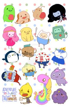 FAN ART: Adventure Time Stickers I