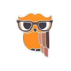 Waldo the Wacky Wise Owl Enamel Pin Blue Lava Lamp, He Makes Me Smile, Little Owl, Pick And Mix, Wise Owl, Big Bird, You're Awesome, Bird Feathers, Art Deco Fashion