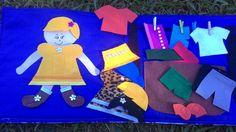 Maleta com boneco que troca de roupas tendo roupas de menina e de menino.    Verificar disponibilidade de cores.