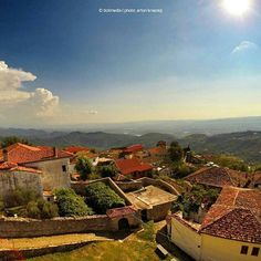 The historic city of Kruja! Photo by: @artonkra  #beauty_of_albania #kruja #albania #shqiperia #town #architecture #city #archilovers #house #ig_europe #europe #balkan #photography #photooftheday #photo #beautiful #panorama #sunnydays #visitalbania #explore #coloursofalbania #colorsofalbania #gopro #explore
