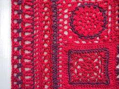 Mulla On Kalenteri, Johon Kirjoitan K - Diy Crafts Diy Crochet Granny Square, Freeform Crochet, Crochet Squares, Crochet Shawl, Crochet Jacket Pattern, Crochet Coat, Crochet Beach Dress, Crochet Girls, Crochet Designs