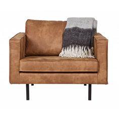 BePureHome Rodeo fauteuil cognac - Designwonen.com