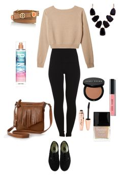 """""""KISESS.?"""" by montse-friends ❤ liked on Polyvore featuring beauty, Pieces, Vans, Rosetti, Bobbi Brown Cosmetics, Victoria's Secret, Butter London, Tory Burch and John Lewis"""