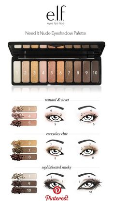 Best Makeup Products Maybelline Eyeshadow Palette Ideas Beste Make-up-Produkte Maybelline Make Up Geek, Maybelline Eyeshadow, Eyeshadow Brushes, Makeup Brushes, Makeup Tools, Best Selling Makeup, Best Makeup Products, Elf Products, Neutral Eyeshadow