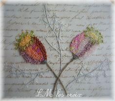 LM les Croix - poppy pods - detail