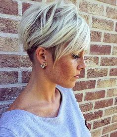 Undercut Pixie Hair, Short, Undercut, Pixie, Women, Purple