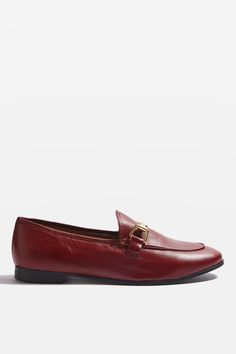 KENDALL Leather Loafers