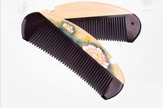 Combs – Wood-Comb-gift ideas for everyone,mom, sister..AS6 – a unique product by handmade-vietnam on DaWanda