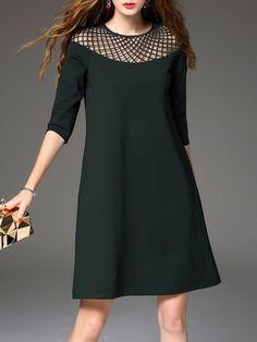 Shop Mini Dresses - Green $12.75 + Free Shipping