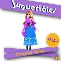 La princesa Anna tal y como aparece en la película Frozen