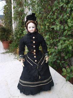 French Fashion Bru antique doll 1875 from chimeradolls on Ruby Lane
