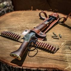 found my next open carry rig. Henry_rifles Magnum Mare's Leg w/ all leather holster made by desantisholster . This is a beautiful firearm and a pleasure to shoot. Gun Holster, Leather Holster, Weapons Guns, Guns And Ammo, Winchester, Henry Rifles, Steampunk Weapons, Armas Ninja, Lever Action Rifles