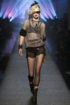 Jean Paul Gaultier - Spring Summer 2013 Ready-To-Wear - Shows - Vogue. Jean Paul Gaultier, Paul Gaultier Spring, Fashion Week Paris, Best Of Fashion Week, Dark Fashion, Fashion Art, High Fashion, Fashion Show, Formal Fashion