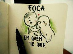 Foca bem Rsrs... Short Comics, Weird Pictures, Disney Memes, Just Love, Lonely, Sad, Feelings, Kawaii, Words