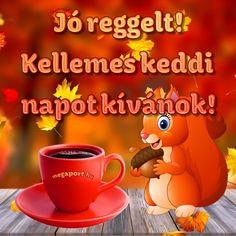 Jó reggelt! Szép napot! - Megaport Media Share Pictures, Animated Gifs, Sendai, Winnie The Pooh, Good Morning, Disney Characters, Fictional Characters, Humor, Funny