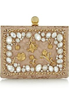 746f16e50f1c Clutch It! Dolce   Gabbana s statement rhinestone and yellow  diamond-studded wedding clutch with
