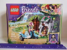"""LEGO First Aid Jungle Bike. Looking for great deals on """"LEGO First Aid Jungle Bike""""? Compare prices from the top online toy retailers. Save money when buying your LEGO play sets for your children and yourself. Legos, Toys For Girls, Kids Toys, Lego Girls, Lego Shop, Van Lego, Lego Friends Sets, Lego Toys, Lego Lego"""