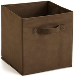 ClosetMaid 78600 Closet Fabric Drawer,Canteen Brown by ClosetMaid. $6.99. Available in a variety of colors. Inside Dimensions: 11 in. H x 10.25 in. W x 10.25 in. D. Suggest use with Cubeicals Storage Organizers. Material: Nonwoven polypropylene. 100% Polypropylene. From the Manufacturer                Brown fabric drawer, 10.5-Inch by 10.5-Inch by 10.5-Inch.                                    Product Description                Perfect for organizing and cutting down on ...
