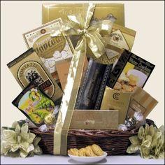 New Year's Delights New Year's Gift Basket  $57.99   http://www.littlegiftbasketboutique.com/item_948/New-Years-Delights-New-Years-Gift-Basket.htm
