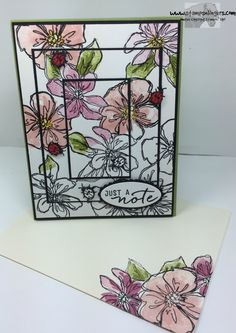 Stamps-N-Lingers.  Penned & Painted and Watercolor Wishes.  Triple Time, Spotlighting and Masking techniques. https://stampsnlingers.com/2016/06/23/stampin-up-penned-and-painted-for-the-happy-stampers-blog-hop/