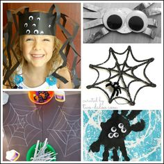 Keep your little ones challenged and entertained with these 15+ spider crafts and activities for kids- includes art, fine motor, crafts, sensory play, games, and more!
