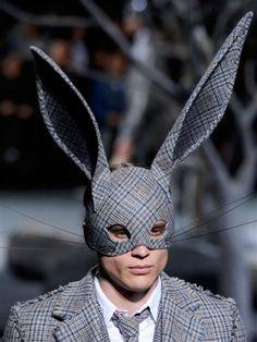 Resultado de imagem para avantgarde fashion rabbit