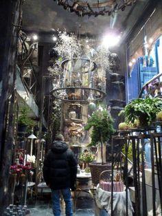 I mellandagarna var käre maken & jag i Köpenhamn och då passade vi på att gå till Tage Andersens butik och utställning...något jag velat gör...