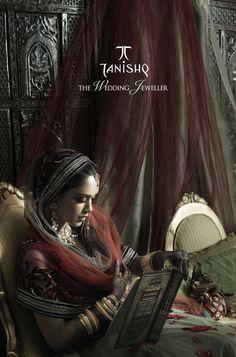 Tanishq Wedding Collection NIKAH by Sharon Nayak, via Behance