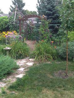 Path into my garden.