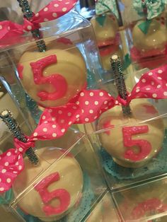 5 years old, candy apples @one_skinny_baker