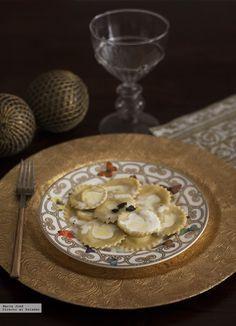 Ravioli tartufo. Receta de pasta casera con y sin Thermomix