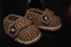 Baby boy Crochet shoes.. $15.00, via Etsy.