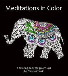 Meditations in Color Coloring Books by artist Pamela Corwin. Buy unique wall clocks, travel alarm clocks, decorative refrigerator magnets, and night lights online, at Seattle's Pike Place Market or at a local retailer.